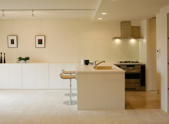 シンプルかつ美しい。キッチンのリノベーション実例