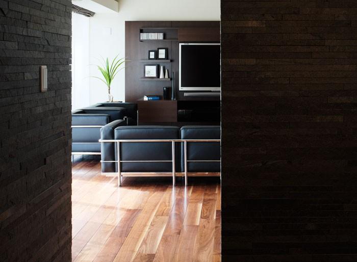 カッシーナの家具がフィットする、リノベーション空間