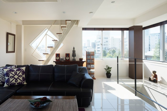狭小住宅をリフォーム。伸びやかに暮らす理想の間取り