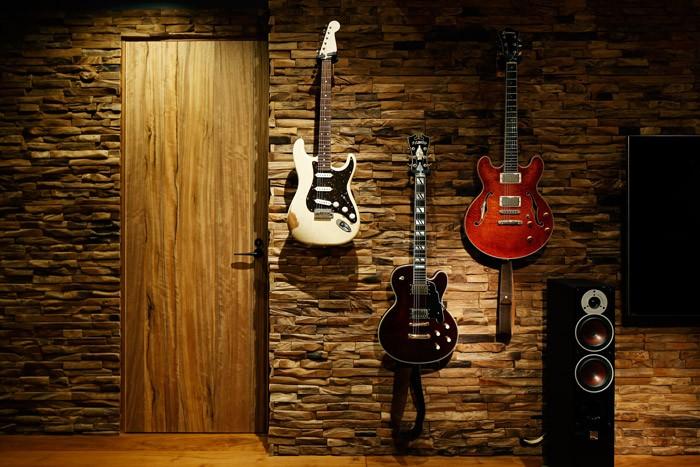 音楽室のある家で、暮らしをリズミカルに