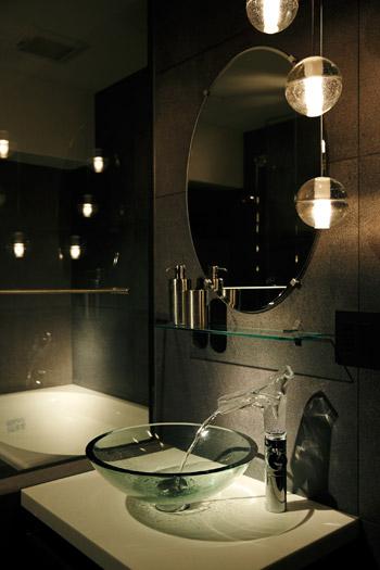 ホテルライクな洗面所のリフォーム事例