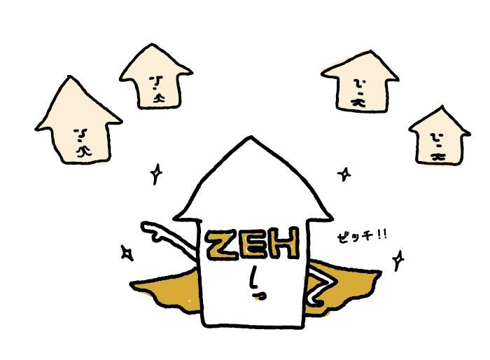 ゼロエネルギーハウス(ZEH)で、光熱費タダ?