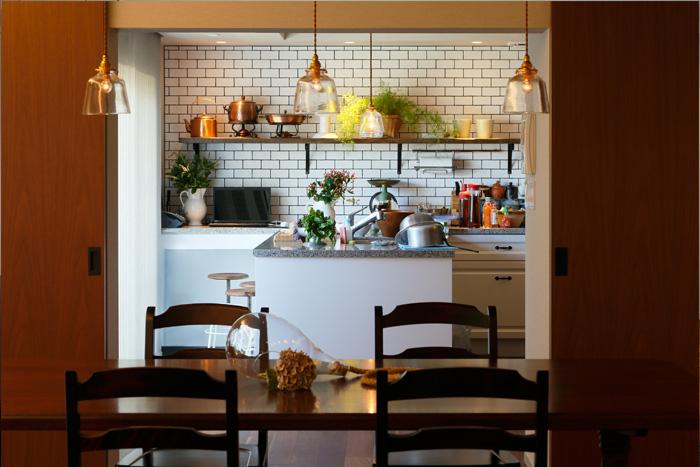 リノベーション事例#398_カフェのようなキッチンのある住まい