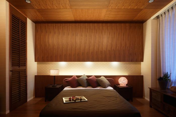 寝室リフォームで、贅沢な眠りのひとときを