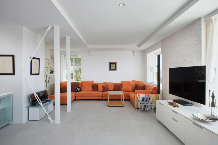 リノベーションでかなえる、家具が主役の住まい